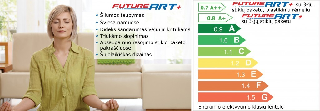 FutureART+ plastikiniai langai 2